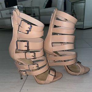 Nude strappy giuseppe zanotti heels
